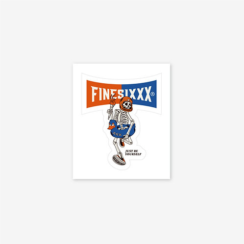 FINESIXXX 3rd Logo Sticker
