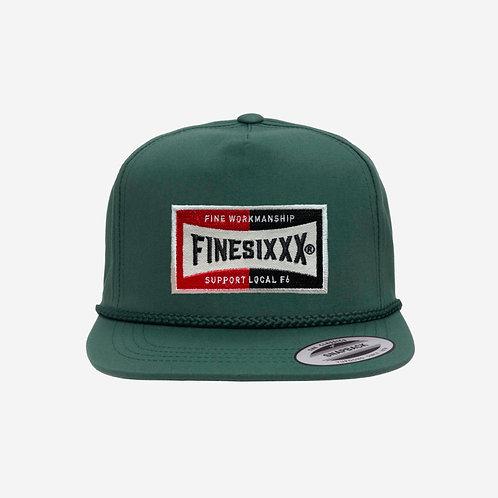 FS 5PANEL WAPPEN CAP - GREEN