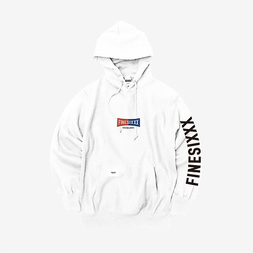 Pullover Hoodie 02 - WHITE