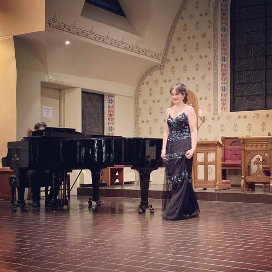 """From showcase """"Great Opera inspires great singers"""", Christ & St Stephen's Church NY"""
