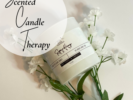Scented Candle Therapy...don't knock it 'til you've tried it!