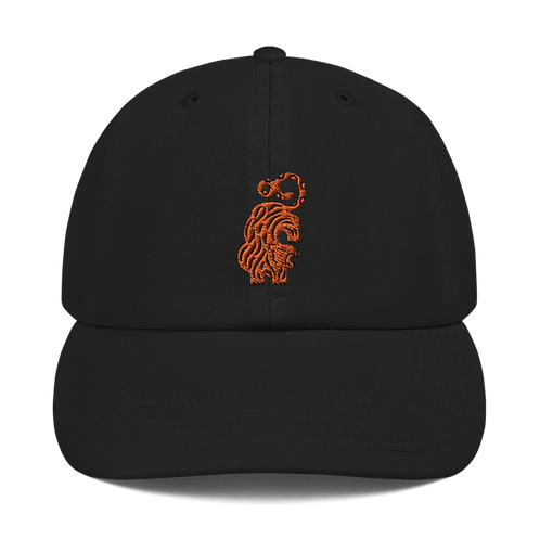 TYGERS AND SNAKES EMBROIDERED CHAMPION DAD HAT
