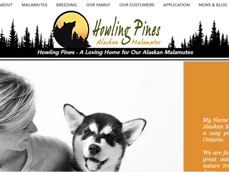 Howling Pines New Website Has Been Launched