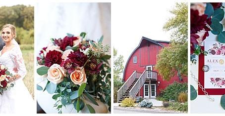 {Mary & Alex} Rustic Oaks Fall Wedding