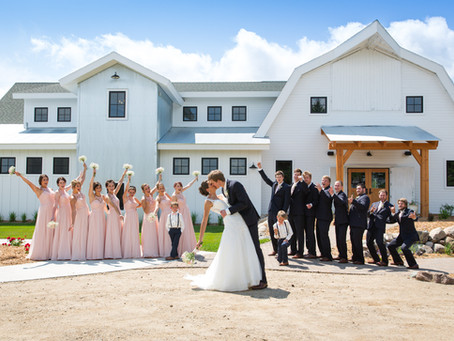 {Breanna & Caleb} Gathered Oaks Wedding, Alexandria, MN
