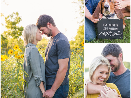 {Abby & Tyler} Golden Hour Engagement Session