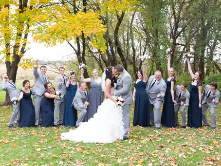 {Ashley & Seth} Minnesota Fall Wedding