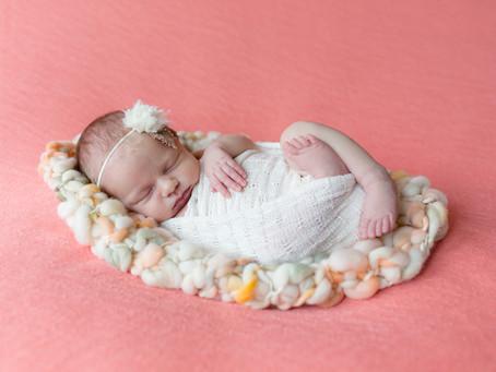 {Addelyn} Newborn In-Home Session