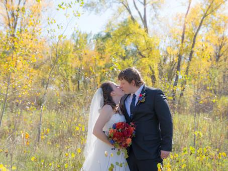 {Alayna & Troy} Minnesota Fall Wedding