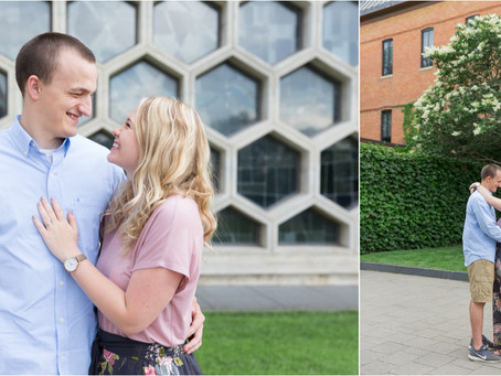 {Jackie and Mitchell} Engagement Session St. John's University
