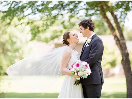 {Katie & Devon} Central Minnesota Summer Wedding