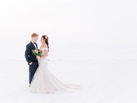 {Alex & Matt} Minnesota Winter Fairytale Wedding