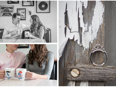 Breanna and Caleb's Winter Engagement Session