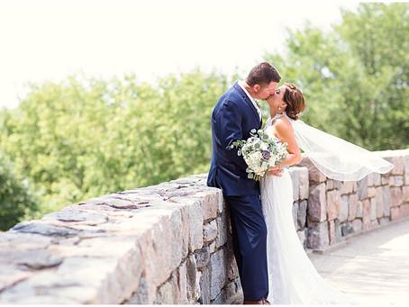 {Lindsay & Keith} Outdoor Summer Wedding, Lakeside Reception
