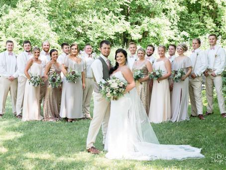 {Alex & Derek} Lakeside Ballroom Wedding / Glenwood, MN