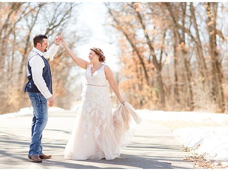 {Leah & John} Blackberry Ridge Wedding, Sartell, MN
