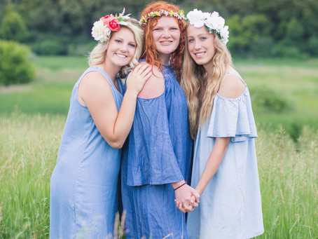 {Grace, Molly, and Emily} Senior Class of 2018 Paynesville High School