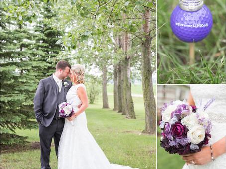 {Michelle & Landon} Central Minnesota Backyard Wedding