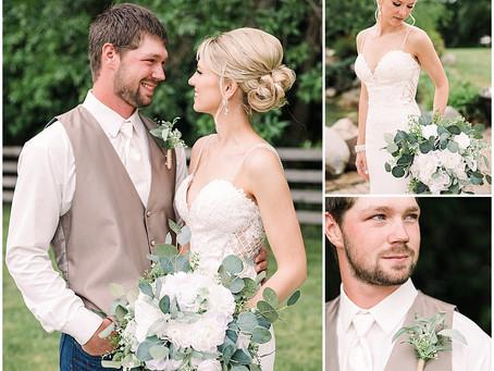 {Abby & Tyler} Long Lake Lodge Summer Wedding