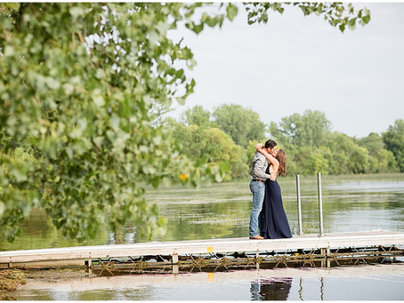 {Lexi & Zach} Engagement Session Alexandria, MN