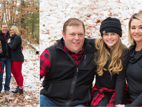 {Bogie} Family Winter Mini Session