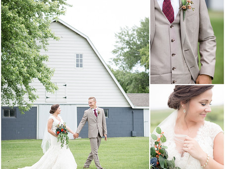 {Becca & Charlie} Bohemian & Eclectic Styled Spicer, Minnesota Wedding