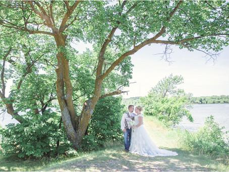 {Kendra & Dakota} Fergus Falls Lakeside Wedding