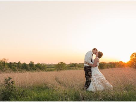 {Kacia & Collin} Glenwood Minnesota Wedding