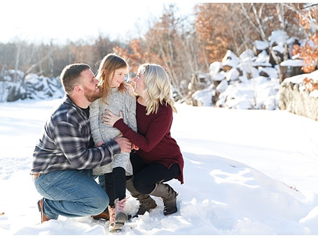 {Brian & Jannel} Winter Engagement