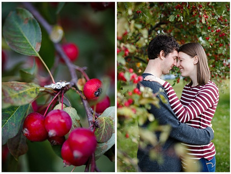 {Katie & Devon} St. John's University Fall Engagement Session