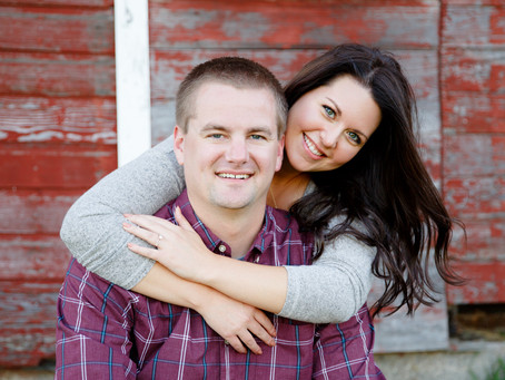 {Candace & Nick} Minnesota Country Engagement Session