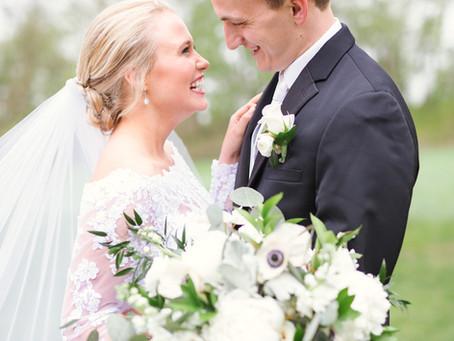 {Jackie & Mitch} Lake Henry, Minnesota Spring Wedding