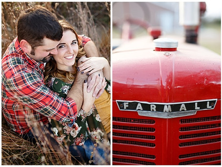 {Leah & John} Minnesota Fall Engagement Session