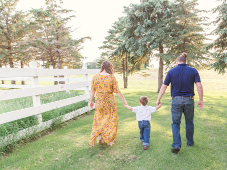 {Hudson} Family Farm Session