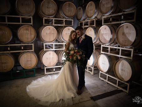 Bold North Cellars & Carlos Creek Winery Promotional Wedding Photo Shoot