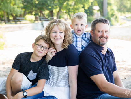 {Blair Family} Sibley State Park Family Beach Session