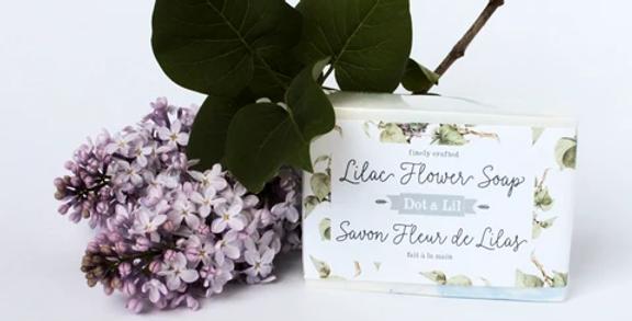 DOT & LIL - Savon Fleur de Lilas