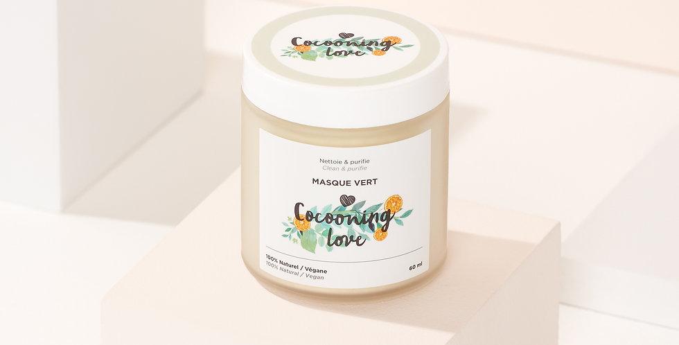 COCOONING LOVE - Masque vert