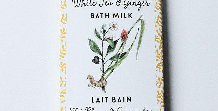 DOT & LIL - Sachet Lait de bain Thé blanc/Gingembre