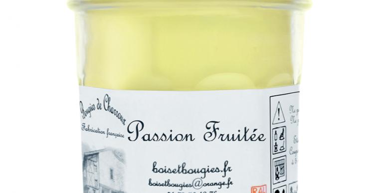 Les Bougies de Charroux - Bougie Passion fruitée