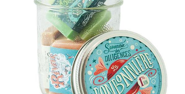 SAVONNERIE DES DILIGENCES - Bonbonnières de minis savons