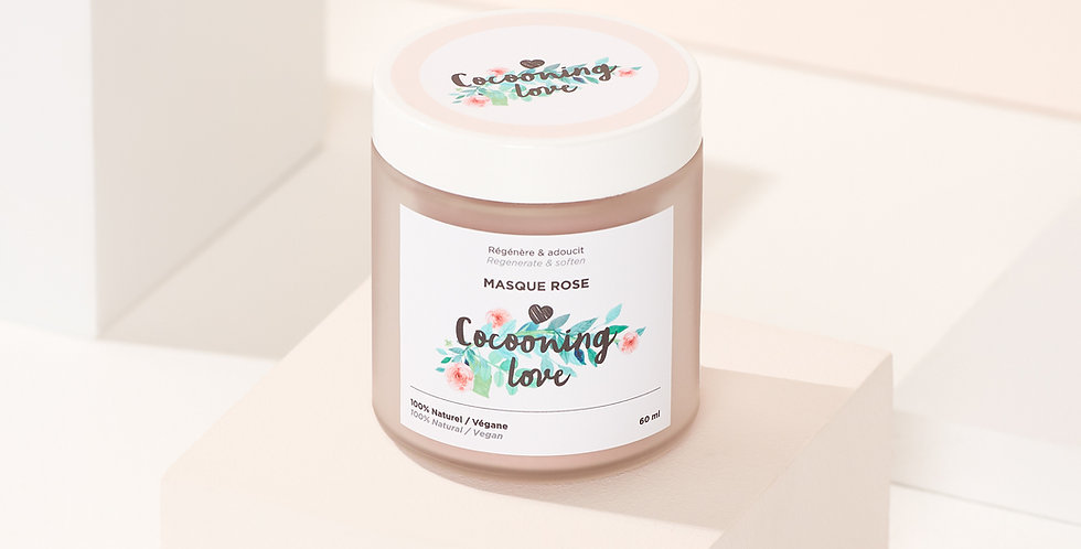 COCOONING LOVE - Masque rose