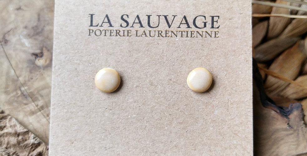 LA SAUVAGE - Boucles d'oreilles Stud