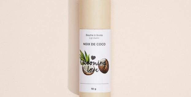 COCOONING LOVE - Baume à lèvres végane Noix de coco
