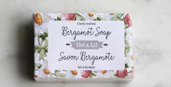 DOT & LIL - Savon Bergamote