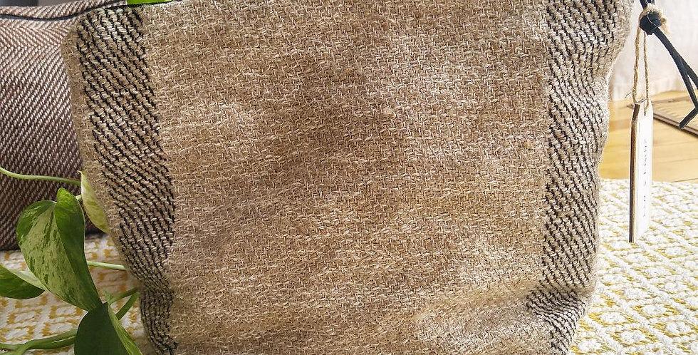 FLO - Pochette 100% lin et laine