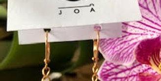 JOÂ - Boucles d'oreilles verre peint