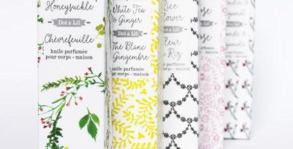 DOT & LIL - Huile parfumée Chèvrefeuille