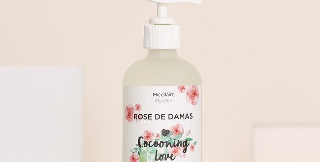 COCOONING LOVE - Eau micellaire à la rose 240ml
