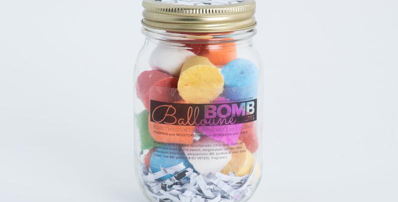LA BOURGEOISE  - Ensemble Bomb Balloune pour le bain